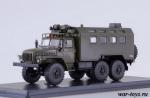 УРАЛ-4320 кунг 1/43 - Масштабная коллекционная модель масштаб 1:43