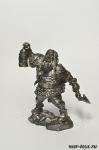 Гном - Оловянный солдатик. Чернение. Высота солдатика 54 мм