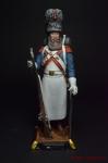Сапер. Франция 1812 - Оловянный солдатик коллекционная роспись 90 мм. Все оловянные солдатики расписываются художником вручную