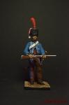 Гусар 10-го полка 1808 - Оловянный солдатик коллекционная роспись 54 мм. Все фигурки расписываются художником вручную