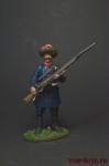 Егерь 16-го полка генерал-майора Лихачева 1803 - Оловянный солдатик коллекционная роспись 54 мм. Все оловянные солдатики расписываются художником вручную