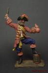 Пират 18 век - Оловянный солдатик коллекционная роспись 54 мм. Все оловянные солдатики расписываются художником вручную