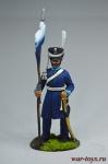 Казак 2-го Александрийского конного полка - Оловянный солдатик коллекционная роспись 54 мм. Все оловянные солдатики расписываются художником вручную