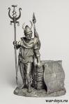 Кельт - Оловянный солдатик. Чернение. Высота солдатика 54 мм