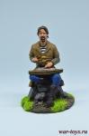 Садко - Оловянный солдатик коллекционная роспись 54 мм. Все оловянные солдатики расписываются художником вручную