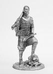 Казак - Не крашенный оловянный солдатик. Высота 54 мм.