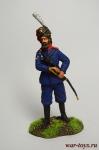 Казак - Оловянный солдатик коллекционная роспись 54 мм. Все оловянные солдатики расписываются художником вручную