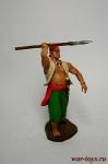 Пират - Оловянный солдатик коллекционная роспись 54 мм. Все оловянные солдатики расписываются художником вручную