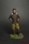 Пилот - Оловянный солдатик коллекционная роспись 54 мм. Все оловянные солдатики расписываются художником вручную