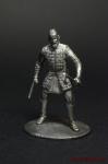 Бьерн - Оловянный солдатик. Чернение. Высота солдатика 54 мм