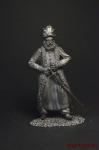 Турок - Не крашенный оловянный солдатик. Высота 54 мм