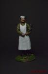 Повар - Оловянный солдатик коллекционная роспись 54 мм. Все фигурки расписываются художником вручную