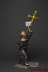 Монах - Оловянный солдатик коллекционная роспись 54 мм. Все фигурки расписываются художником вручную
