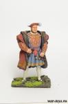 Генри VIII, 1537 - Оловянный солдатик коллекционная роспись 54 мм. Все оловянные солдатики расписываются художником в ручную
