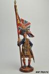 Англия. Знаменосец шотландской пехоты Начало 19 века