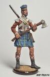 Англия. Сапер шотландской пехоты Начало 19 века