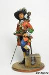 Пираты. Флибустьер с добычей 17 век