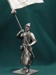 Россия.Стрелец-знаменщик с сотенным знаменем 17 век (Kit)