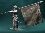 Россия.Стрелец-знаменщик с сотенным знаменем. 17 век (Kit)