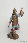 Варвар. Воин кельтов 1 в до н.э. - Оловянный солдатик коллекционная роспись 54 мм. Все оловянные солдатики расписываются художником в ручную