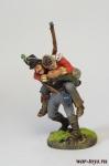 Англия. Гренадеры - Оловянный солдатик коллекционная роспись 54 мм. Все оловянные солдатики расписываются художником в ручную