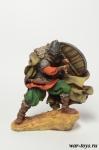 Викинг. Скоро зима - Оловянный солдатик коллекционная роспись 54 мм. Все оловянные солдатики расписываются художником в ручную