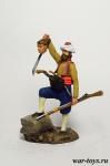 Турция. Башибузук 18 век - Оловянный солдатик коллекционная роспись 54 мм. Все оловянные солдатики расписываются художником в ручную