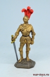 Рыцарь. Германия, нач. 16 века - Оловянный солдатик коллекционная роспись 54 мм. Все оловянные солдатики расписываются художником в ручную