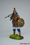 Восток. Монгольский воин 13 век - Оловянный солдатик коллекционная роспись 54 мм. Все оловянные солдатики расписываются художником вручную