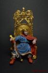 Англия. Король Артур 7 век - Оловянный солдатик коллекционная роспись 54 мм. Все оловянные солдатики расписываются художником вручную