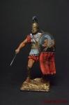 Греция. Гоплит - Оловянный солдатик коллекционная роспись 54 мм. Все фигурки расписываются художником вручную