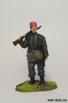 Егерь, 13-я горная дивизия, 1944 г - Оловянный солдатик коллекционная роспись 54 мм. Все оловянные солдатики расписываются художником в ручную