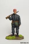 Егерь, 13-я горная дивизия, 1944 г. - Оловянный солдатик коллекционная роспись 54 мм. Все оловянные солдатики расписываются художником в ручную
