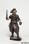 Пират, 17-18 вв. - Оловянный солдатик коллекционная роспись 54 мм. Все оловянные солдатики расписываются художником в ручную