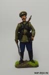 Казак, 1914 год. - Оловянный солдатик коллекционная роспись 54 мм. Все оловянные солдатики расписываются художником в ручную
