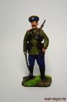 Казак, 1914 год. - Оловянный солдатик коллекционная роспись 54 мм. Все оловянные солдатики расписываются художником вручную
