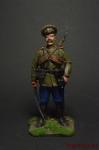 Казак, 1914 год - Оловянный солдатик коллекционная роспись 54 мм. Все оловянные солдатики расписываются художником вручную