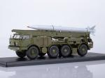 ЛУНА-М 95113 с ракетой 9M21 на шасси ЗИЛ-135ЛМ