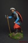 Варяг, X век. - Оловянный солдатик коллекционная роспись 54 мм. Все оловянные солдатики расписываются художником вручную