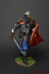 Викинг 10-12 в.в. 75 мм - Оловянный солдатик коллекционная роспись 75 мм. Все оловянные солдатики расписываются художником вручную