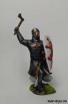 """Ричард 1-й """"Львиное Сердце"""", король Англии 1189-92 - Оловянный солдатик коллекционная роспись 54 мм. Все оловянные солдатики расписываются художником в ручную"""