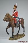 Офицер 1-го Лейб-гвардии конного полка, Британия, 1815 - Коллекционный оловянный солдатик. Высота всадника 54 мм. Del Prado без блистера