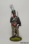 Офицер 2-го лейб-гусарского полка. Пруссия, 1809-15 гг. - Оловянный солдатик коллекционная роспись 54 мм. Все оловянные солдатики расписываются художником в ручную