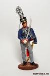 Офицер 2-го лейб-гусарского полка. Пруссия, 1809-15 гг. - Оловянный солдатик, роспись 54 мм. Все оловянные солдатики расписываются художником в ручную