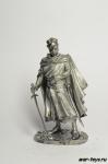 Рыцарь - Не крашенный оловянный солдатик. Высота 54 мм