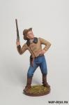 Ковбой - Оловянный солдатик коллекционная роспись 54 мм. Все оловянные солдатики расписываются художником в ручную