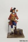 Корсар - Оловянный солдатик коллекционная роспись 54 мм. Все оловянные солдатики расписываются художником в ручную