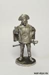 Портос - Оловянный солдатик. Чернение. Высота солдатика 54 мм