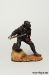Ниндзя - Оловянный солдатик коллекционная роспись 54 мм. Все оловянные солдатики расписываются художником в ручную