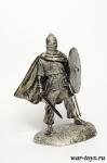 Викинг - Оловянный солдатик. Чернение. Высота солдатика 54 мм